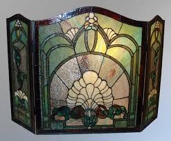 tiffany style fireplace screen i want