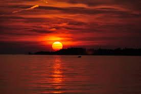 جمال غروب الشمس من اجمل المناظر الطبيعية صوري