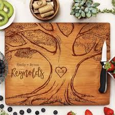 Custom Wedding Cutting Board, Personalized Wedding Cutting Board, Cust –  Stamp Out