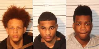 3 men charged after roadway shooting and chase on Shelby Drive
