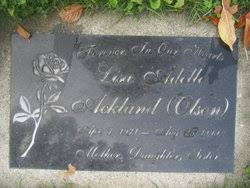 Lisa Adele Olson Ackland (1971-1999) - Find A Grave Memorial