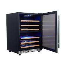 154l vino pro dual zone wine fridge in