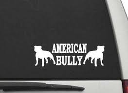 American Bully Decal Sticker For Car Or Truck Window Or Laptop Etsy