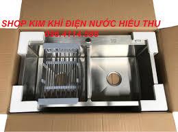 Mua [SIÊU SALE] Chậu Rửa Bát Inox 304 Đúc Nguyên Khối 2 Hố Cân ...