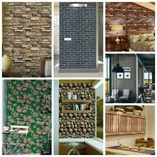 3d Brick Wall Stickers Self Adhesive Pvc Wall Paper Peel And Stick Wall Panel For Sale Online