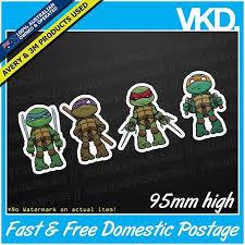 Tmnt Sticker Decal Teenage Mutant Ninja Turtles Car Dab Meme Pokemon Cute Ebay
