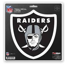 Nfl Las Vegas Raiders Large Decal 8 X 8 Raider Logo Reality Check Xtreme
