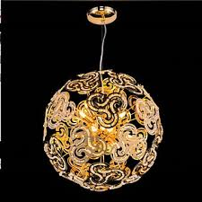simple modern chandelier crystal ball