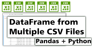 join multiple csv files into one pandas