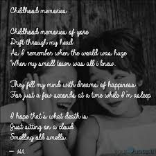 childhood memories child quotes writings by heenu yourquote