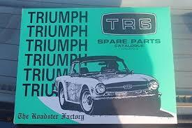 triumph tr6 spare parts catalogue vol 1