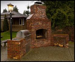 brick barbeques brick bbq fireplace