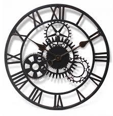 garden clock large faced garden clock