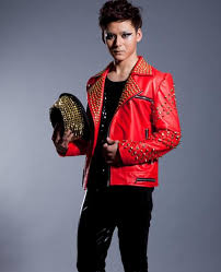 motorcycles pu faux leather jacket