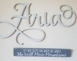 Aria Name Etsy