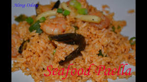 quick and easy seafood paella filipino