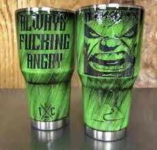Hulk 30oz Ozark In 2020 Custom Tumbler Cups Star Wars Cup Yeti Cup Designs