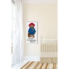 Shop Marmont Hill A Bear Paddington Bear Painting Print On Canvas Multi Color Overstock 11416186