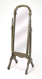 meredith silver satin cheval