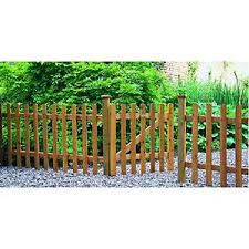 Forest Garden 6 X 3ft Dip Treated Pale Palisade Picket Fence Garden Gates Palisade Fence Picket Fence