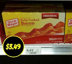rare oscar mayer fully cooked bacon