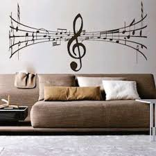 Music Symbol Vinyl Wall Decal By Trendywalldesigns On Etsy 인테리어