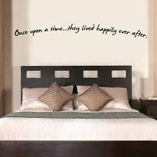 Once Upon A Time They Lived Happily Ever After Wall Decal