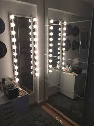 long mirror with light 17 d i y vanity