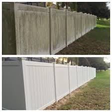Vinyl Fence Softwash Cleaning Orlando Softwash Roof Cleaning And Pressure Washing