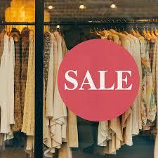 Sale Retail Shop Window Decal Looksugar