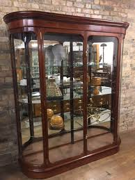 tall antique style bow display