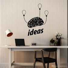 Idea Wall Stickers For Living Room Brain Mind Light Bulbs Brainstorm Brilliant Vinyl Wall Decal Classroom Teen Room Decor Wall Sticker Quotes Wall Stickers From Joystickers 13 48 Dhgate Com