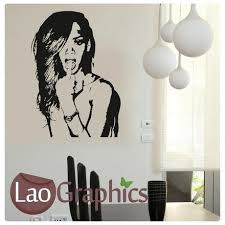 Ariana Grande Wall Stickers Home Decor Art Decals Large Uk Transfers Laographics