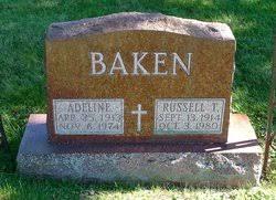 Adeline Bell Baken (1913-1974) - Find A Grave Memorial