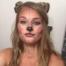 bear face makeup for saubhaya makeup
