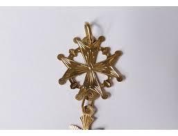 solid gold 18 carat dove holy spirit