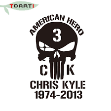 9 14cm American Hero Chris Kyle 1974 2013 Hot Removable Waterproof Car Sticker Funny Cars Window Decals Car Window Decals Window Decalscar Sticker Funny Aliexpress