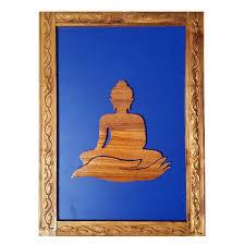 wooden buddha wall decor from sisam