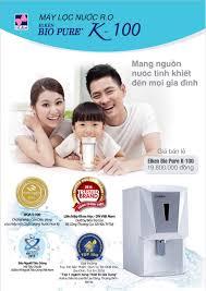 Máy Lọc Nước Elken RO Bio Pure K100 - Sức Khỏe Là Vàng