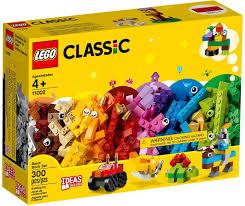 Đồ chơi lắp ráp LEGO Classic 11002 - Hộp Gạch Sáng Tạo 300 Mảnh Ghép (LEGO  11002 Basic Brick Set)