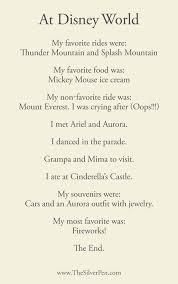 walt disney poems