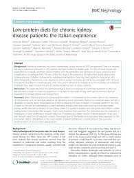 PDF) Low-protein diets for chronic kidney disease patients: The ...