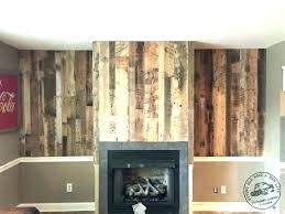 reclaimed wood fireplace wall mosygid vip