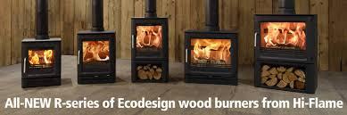 gas wood burning multi fuel stove