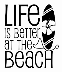 Life Is Better At The Beach Decal Size 4 5 X 5 25