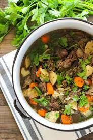 healthy slow cooker beef stew