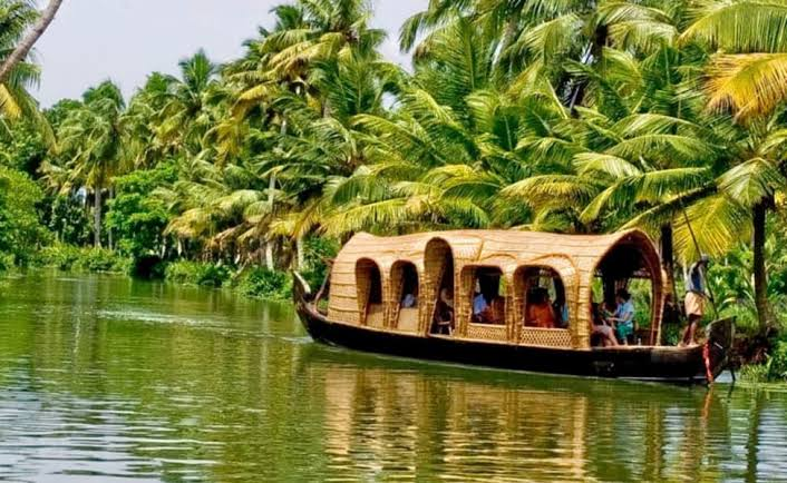 Image result for Backwaters of Kerala