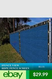 Ifenceview 5 X3 5 X50 Blue Fence Privacy Screen Mesh Net Fabric Garden Outdoor Garden Privacy Screen Outdoor Privacy Garden Privacy