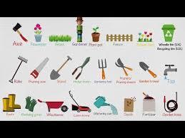 gardening tools names list of garden