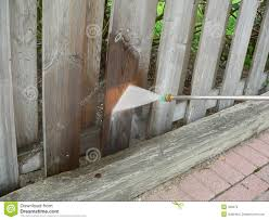 Wooden Fence Power Wash Stock Image Image Of Clean Yard 328373
